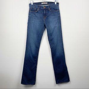 J BRAND Classic Slim Boot Cut Jeans Medium Dark Wash Size 28